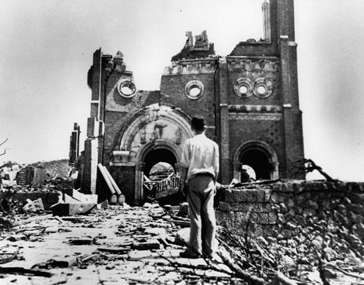 Bombardeos en Nagasaki
